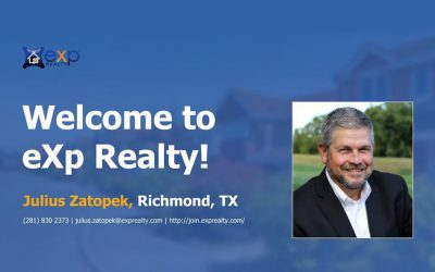 Welcome to EXP Realty Julius Zatopek