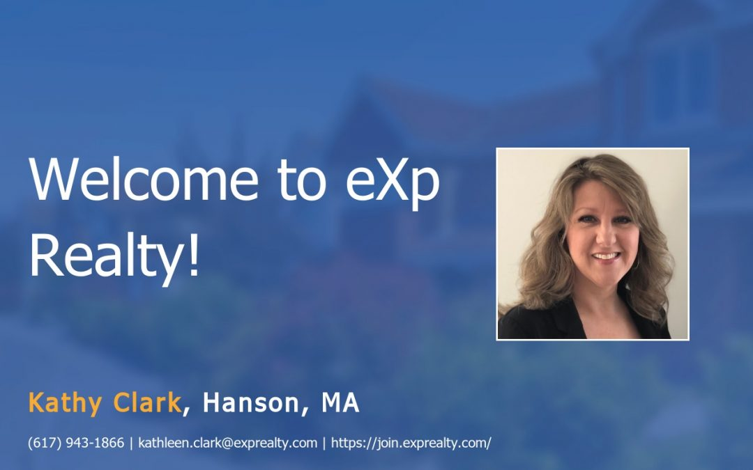 Welcome to EXP Realty Kathy Clark