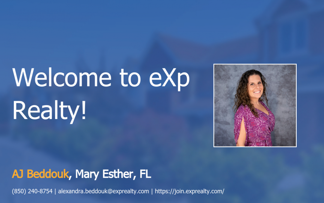 eXp Realty Welcomes AJ Beddouk!