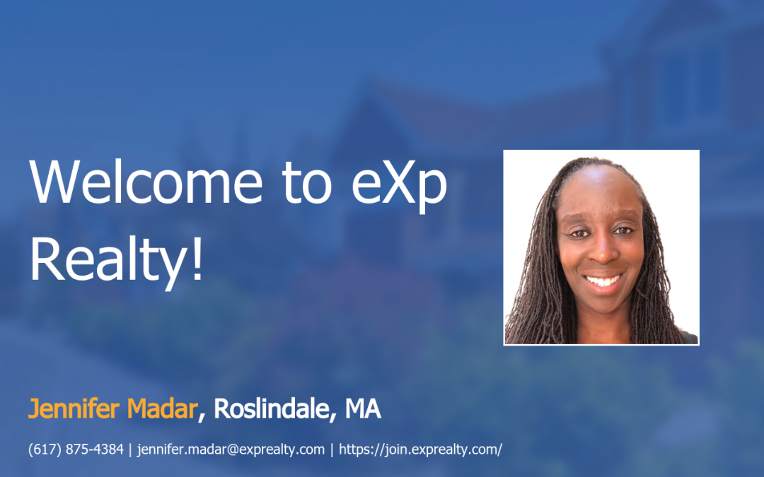 Jennifer Madar Joined EXP Realty!