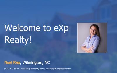 eXp Realty Welcomes Noel Rao!