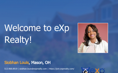 Siobhan Louis Joined eXp Realty!