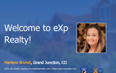 Marlene Brunet Joined eXp Realty!