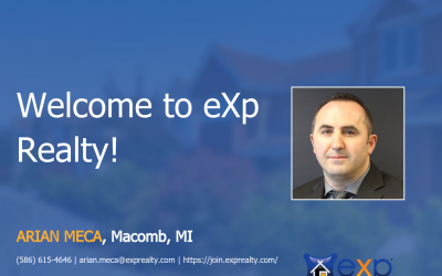 eXp Realty Welcomes Arian Meca!