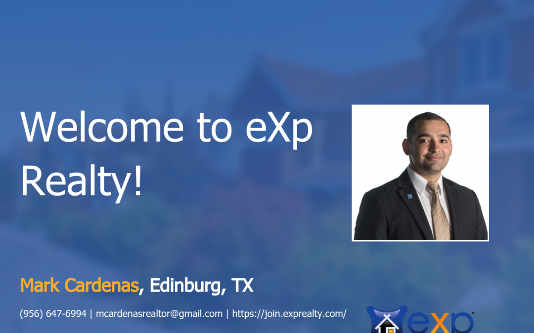 Mark Cardenas Joined eXp Realty!