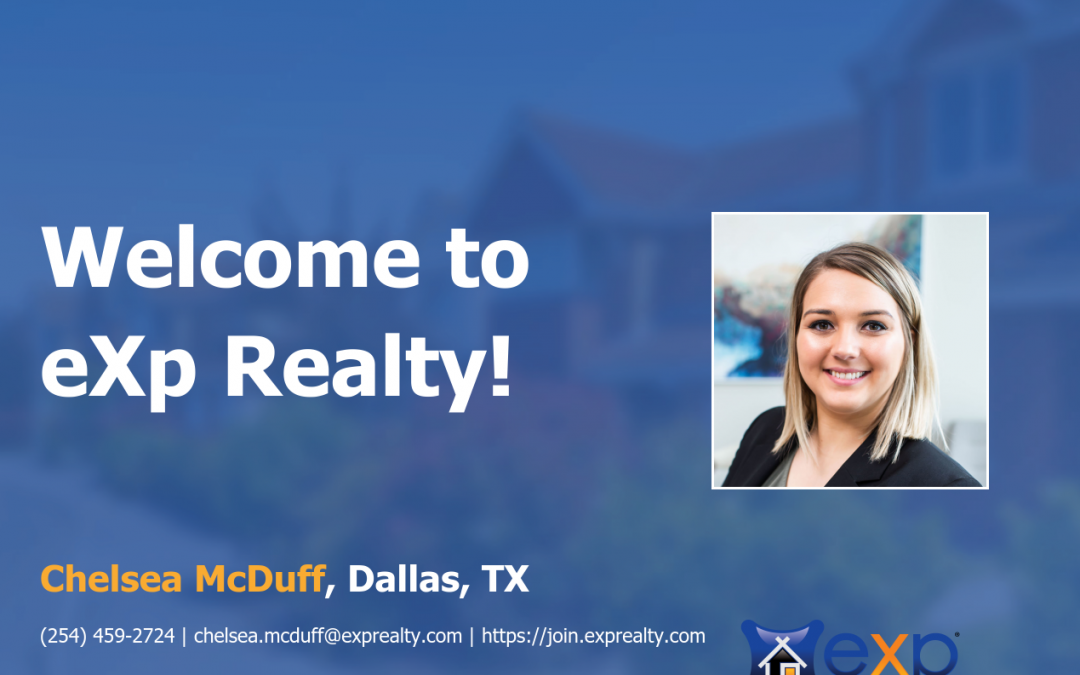 eXp Realty Welcomes Chelsea McDuff!
