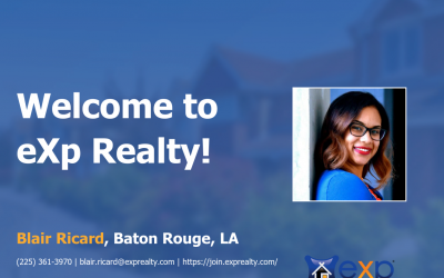 Blair Ricard Joined eXp Realty!