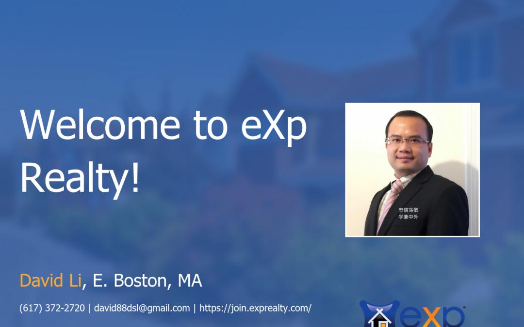 David Li Joined eXp Realty!