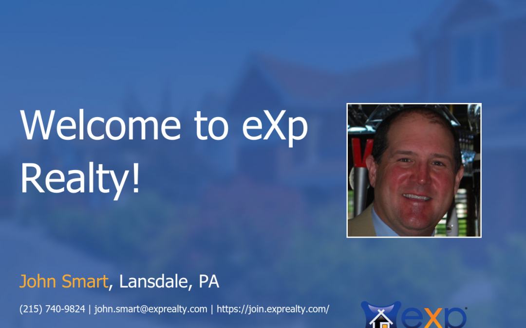eXp Realty Welcomes John Smart!