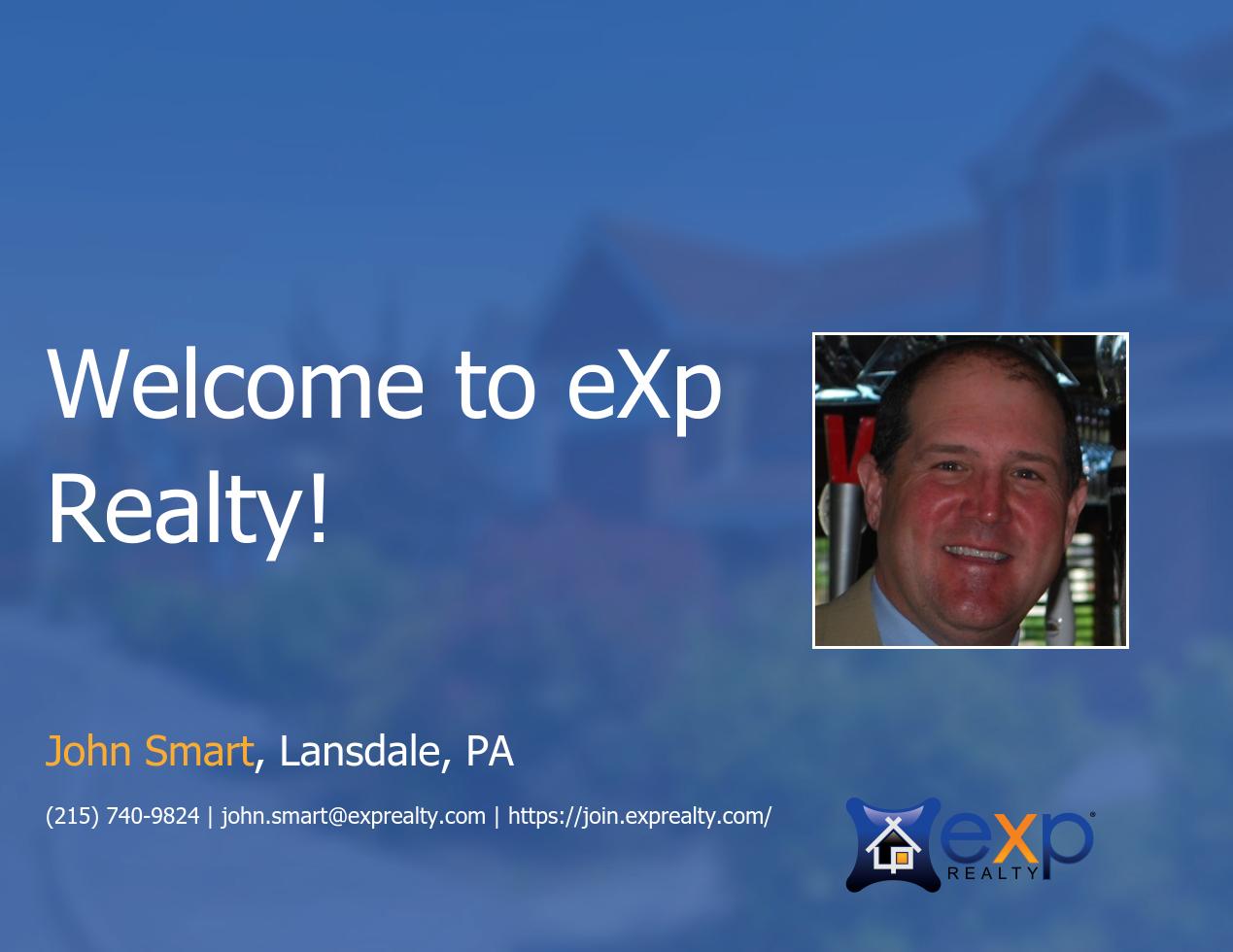 eXp Realty Welcomes John Smart!