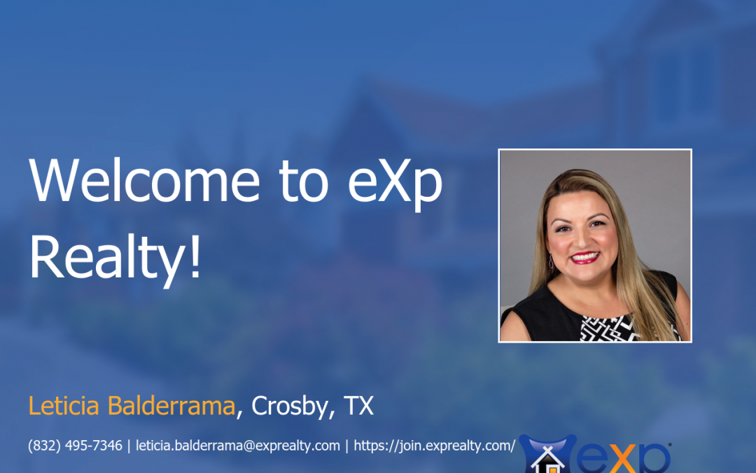 eXp Realty Welcomes Leticia Balderrama!