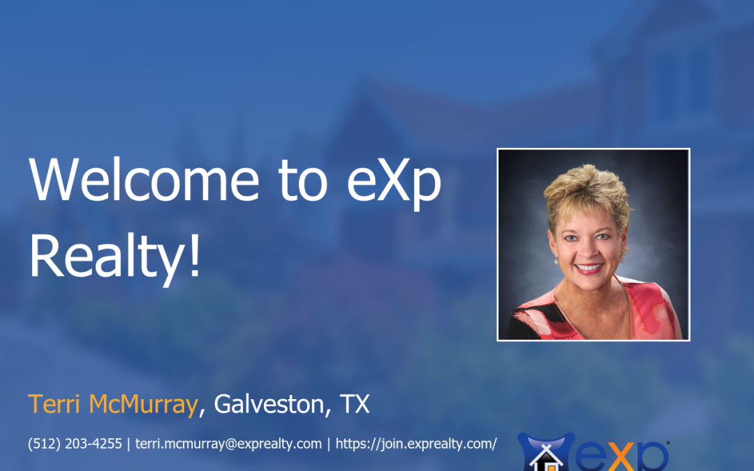 Welcome to eXp Realty Terri McMurray!