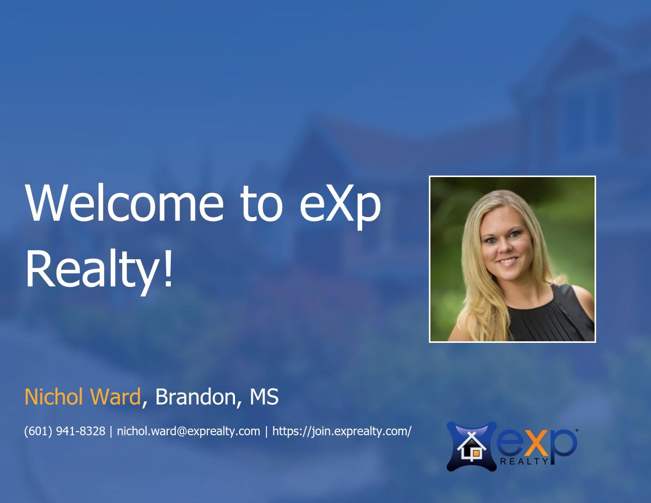 eXp Realty Welcomes Nichol Ward!