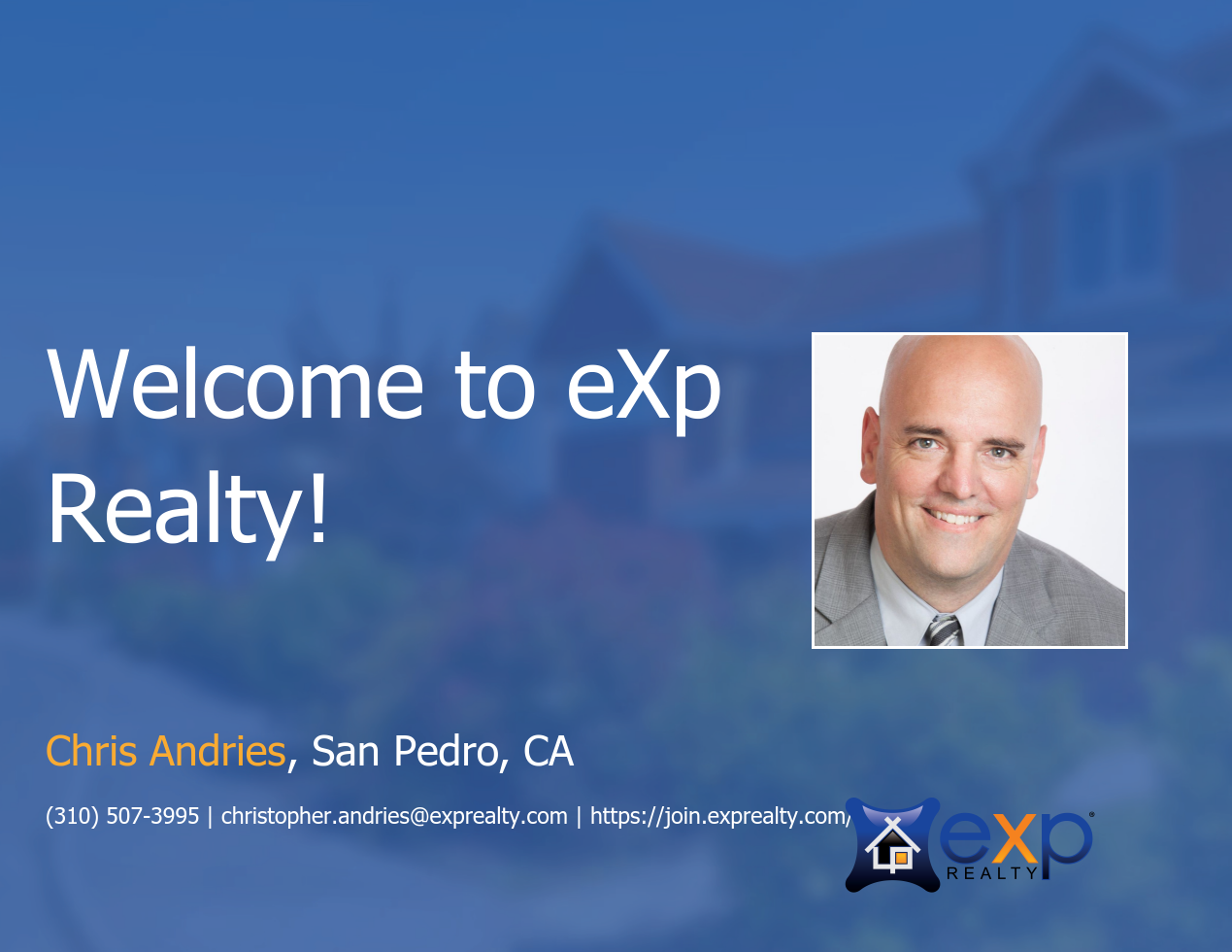 Chris Andries Joined eXp Realty!