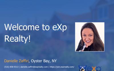 eXp Realty Welcomes Danielle Zaffiri!