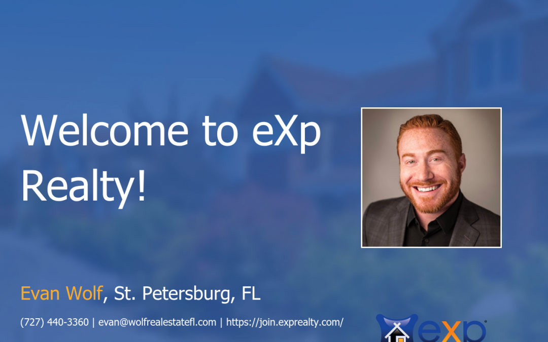 eXp Realty Welcomes Evan Wolf!