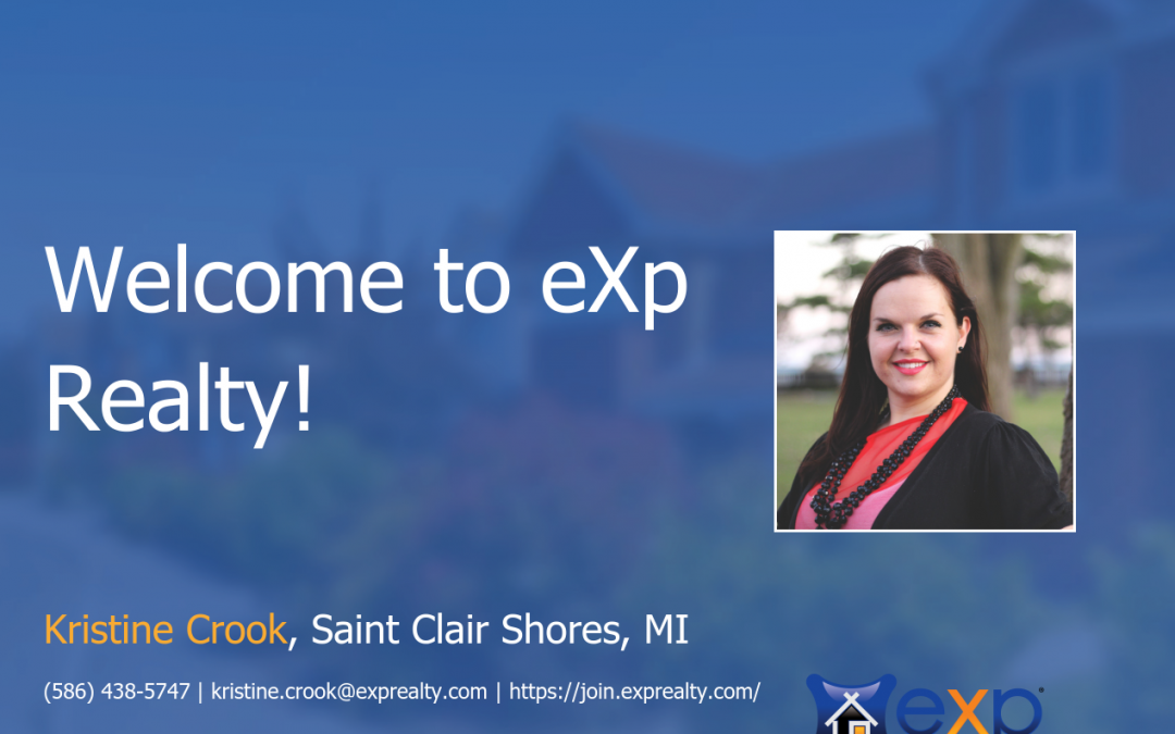 Kristine Crook Joined eXp Realty!