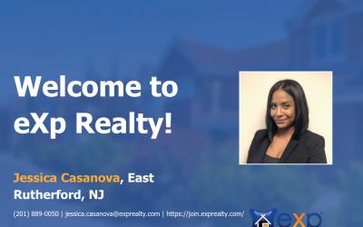 Jessica Casanova Joined eXp Realty!