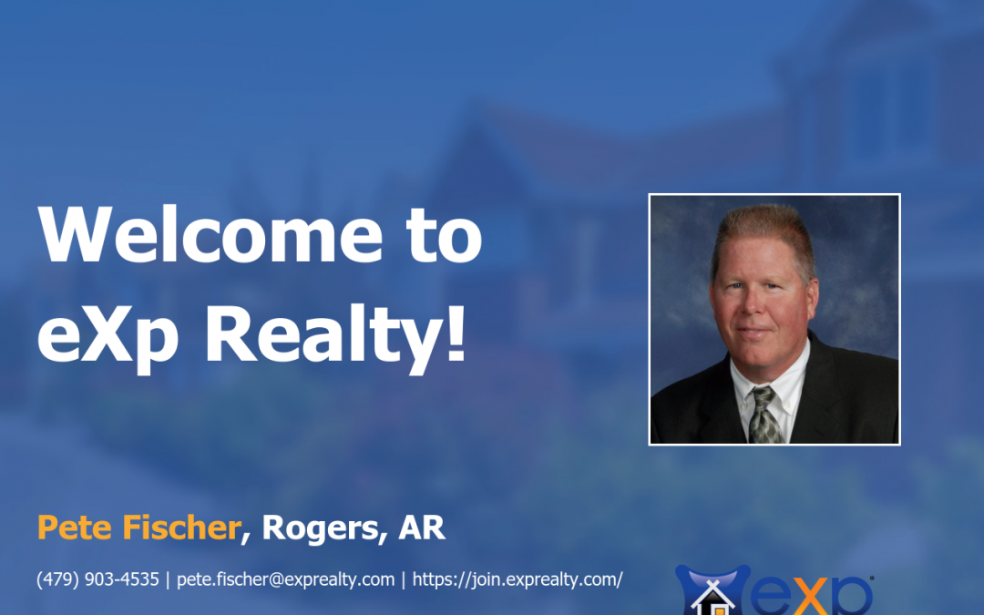 Pete Fischer Joined eXp Realty!
