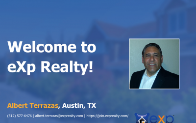 Welcome to eXp Realty Albert Terrazas!