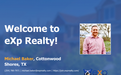 Welcome to eXp Realty Michael Baker!