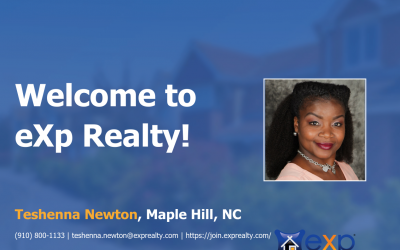 eXp Realty Welcomes Teshenna Newton!