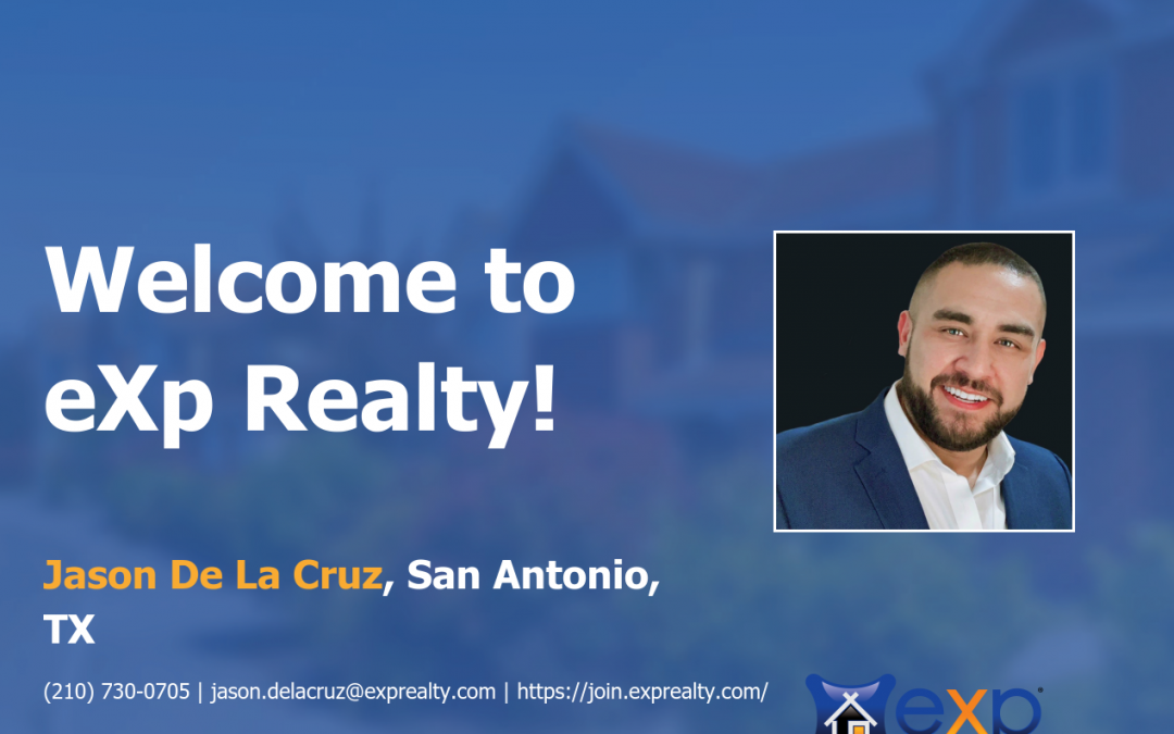 Jason De La Cruz Joined eXp Realty!