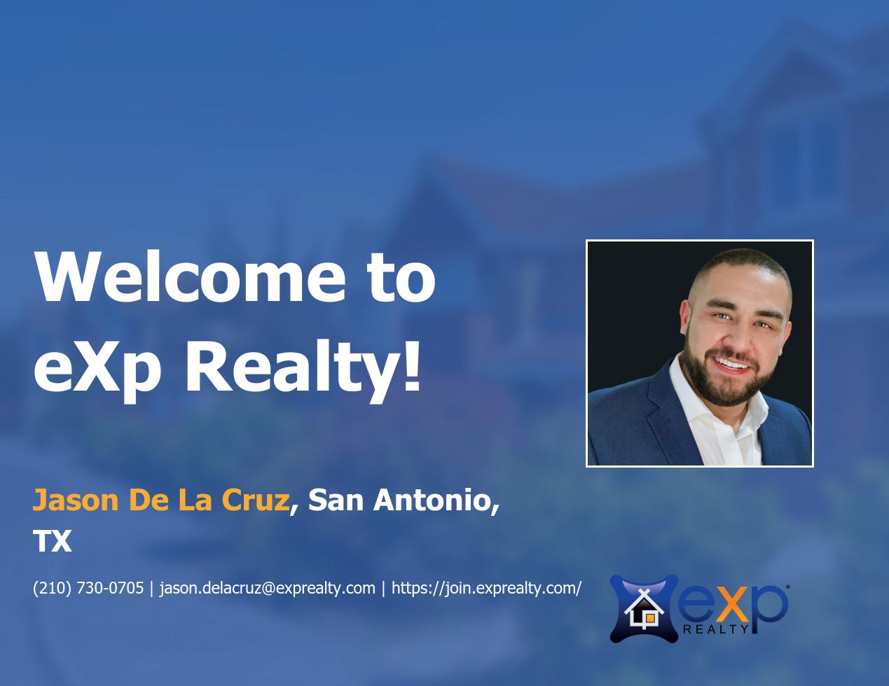 Jason De La Cruz Joined eXp Realty!