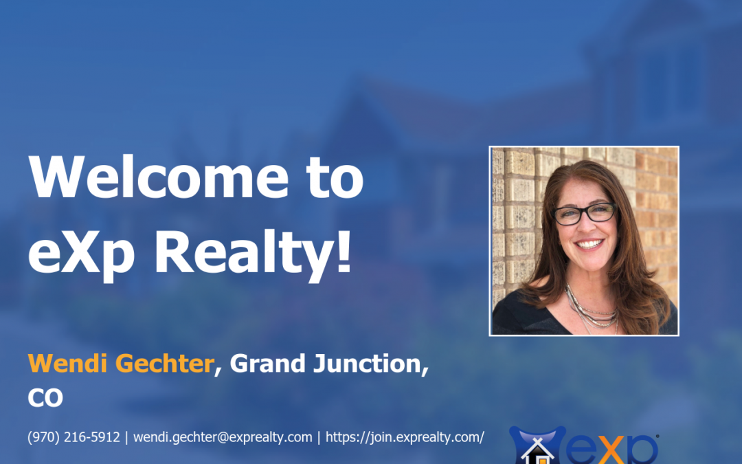 Wendi Gechter Joined eXp Realty!