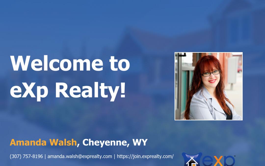 eXp Realty Welcomes Amanda Walsh!