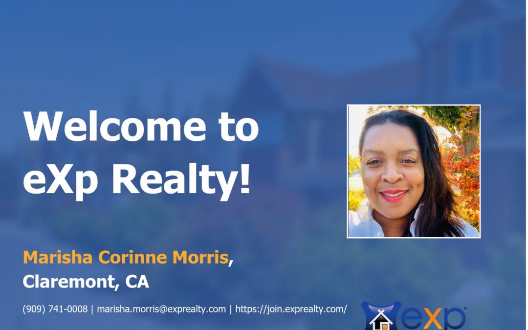 eXp Realty Welcomes Marisha Morris!