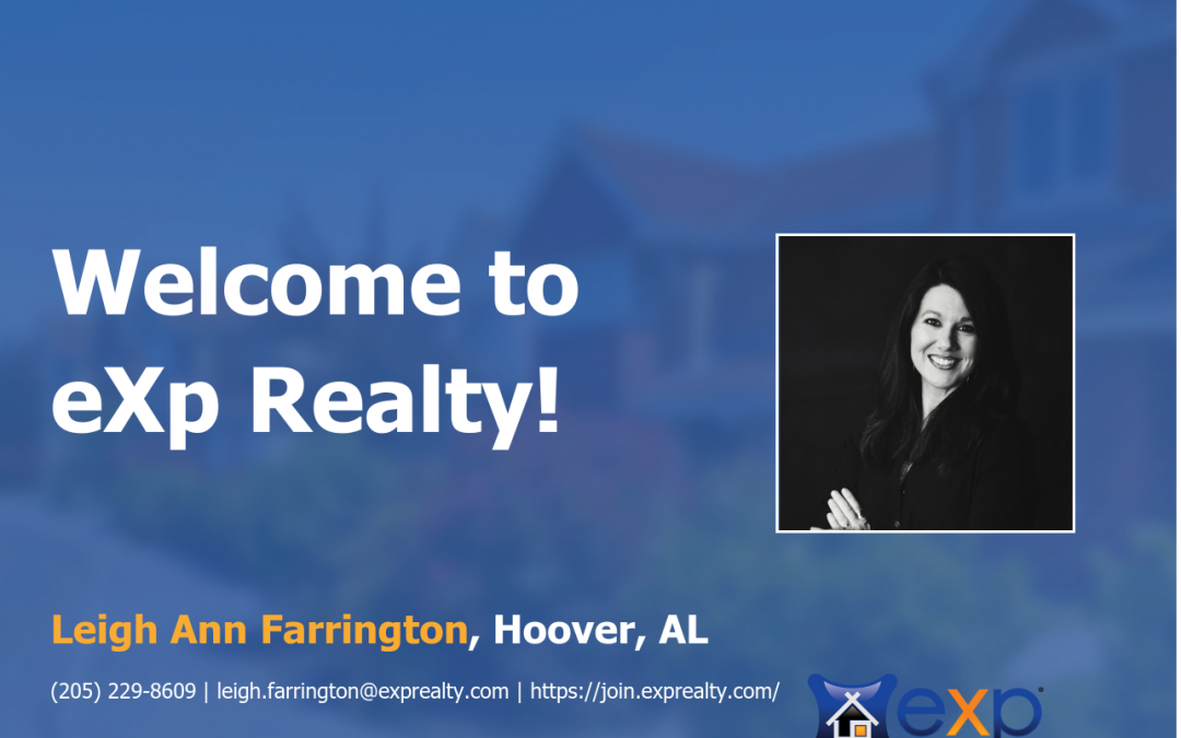 eXp Realty Welcomes Leigh Ann Farrington!