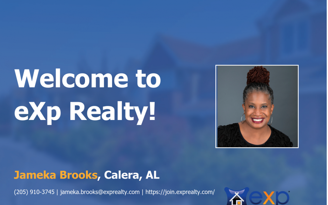 eXp Realty Welcomes Jameka Brooks!