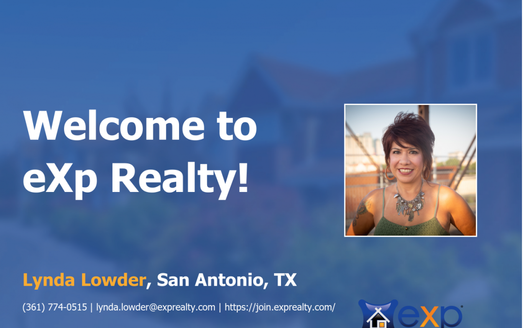 Lynda Lowder Joined eXp Realty!