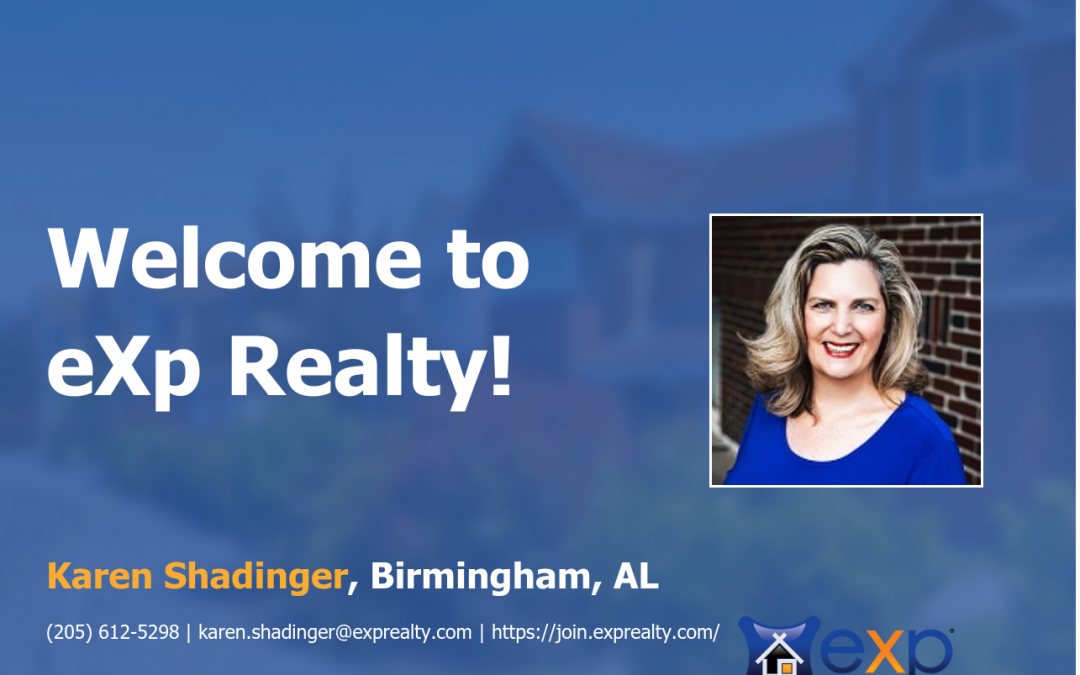 eXp Realty Welcomes Karen Shadinger!