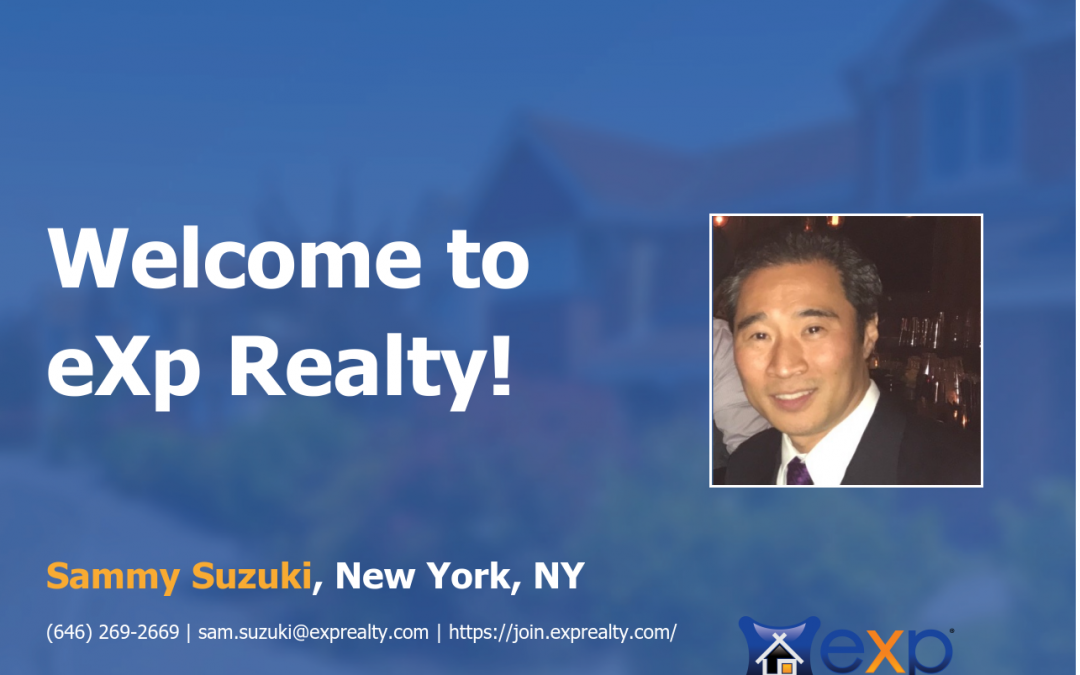 eXp Realty Welcomes Sammy Suzuki!