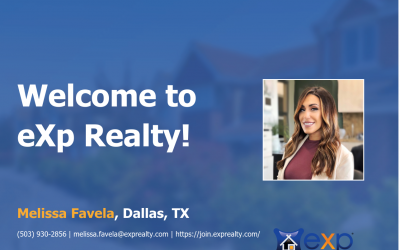 Melissa Favela Joined eXp Realty!