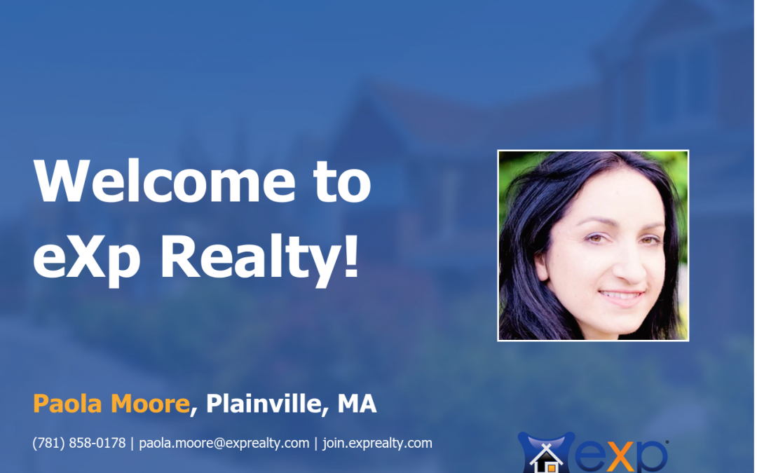 eXp Realty Welcomes Paola Moore!