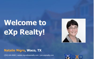 Welcome to eXp Realty Natalie Nigro!