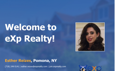 Esther Reizes Joined eXp Realty!