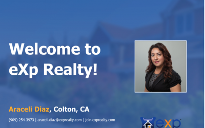 Araceli Diaz Joined eXp Realty!