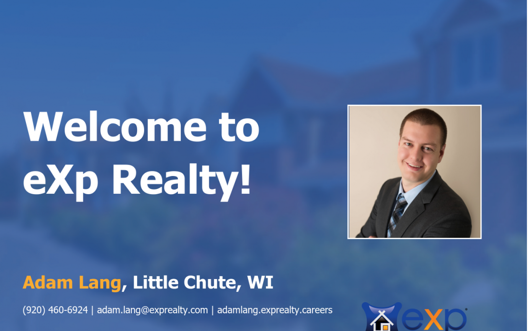 Welcome to eXp Realty Adam Lang