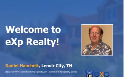 Daniel Hanchett Joined eXp Realty!