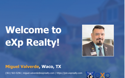 Miguel Valverde Joined eXp Realty!