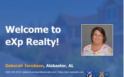 eXp Realty Welcomes Deborah Jacobson!