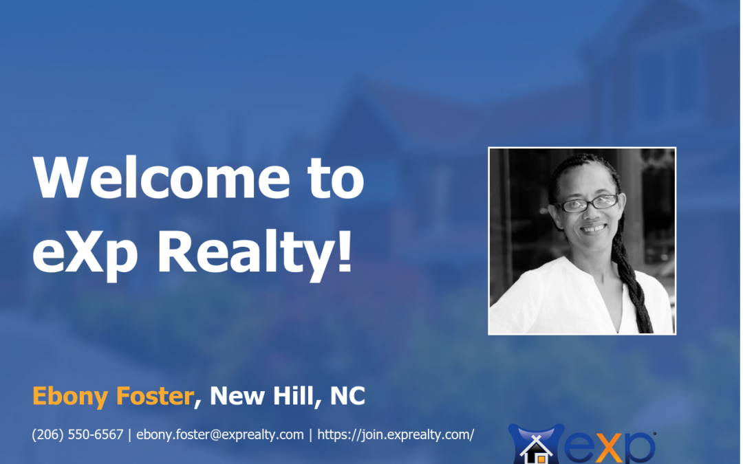 eXp Realty Welcomes Ebony Foster!