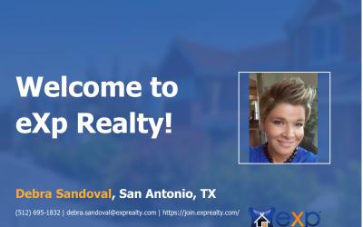 eXp Realty Welcomes Debra Sandoval!