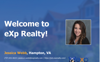 eXp Realty Welcomes Jessica Webb!