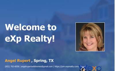 Angel Rupert Joined eXp Realty!