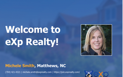 Welcome to eXp Realty Michele Smith!
